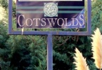 Cotswolds Sign