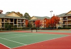 The Hub Tennis courts