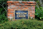 Willow Creek Entrance