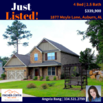 JUST LISTED: Home in Auburn For Sale
