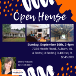 Open House: Heath Road, Auburn, 09/16