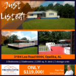 JUST LISTED in Opelika: 3194 Lee Road 0044 !