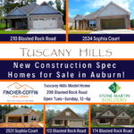Spec Homes in The Oaks at Cotswolds and Tuscany Hills
